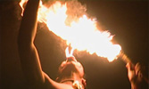 fire eater in somoa